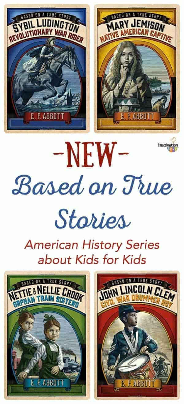 new series about American history New Historical Fiction Novels About Real Kids' Lives