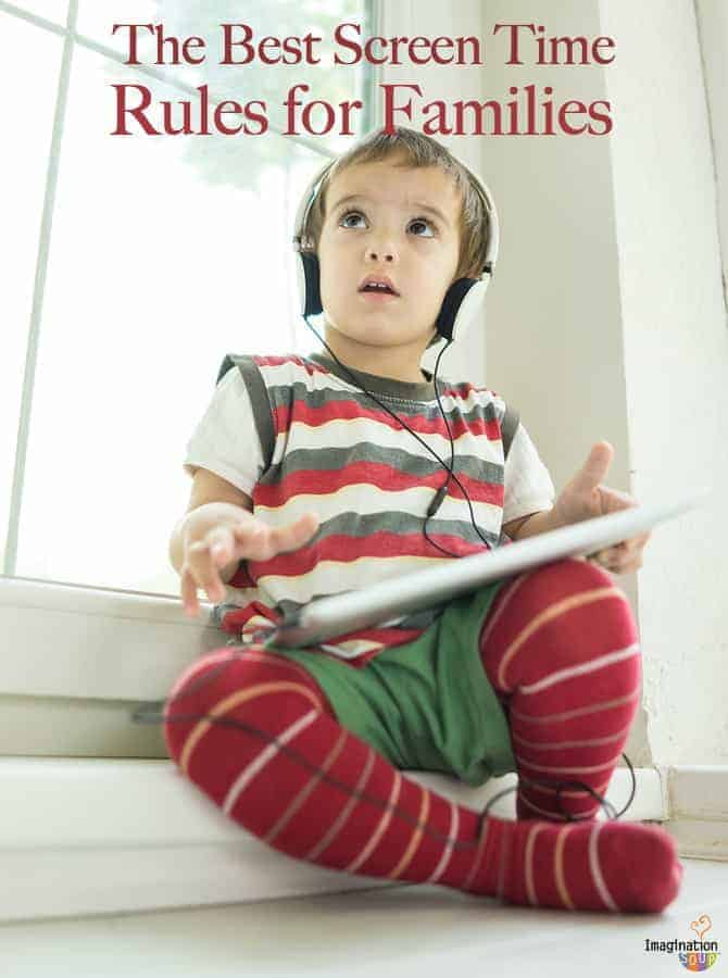 Too much screen time? Get back into control with these rules and guidelines for kids and families