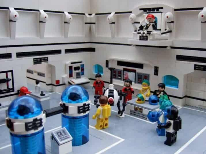 Futuron LEGOs in Space