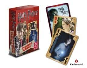 Harry Potter Playing Cards Red Favorite Harry Potter Games