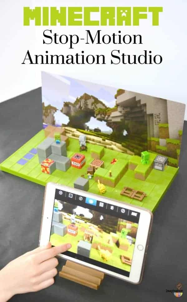Minecraft Stop Motion Animation Studio REVIEW