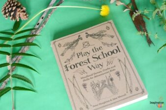 Play the Forest School Way review and magic wand craft