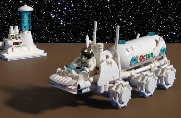 Tyler Sky - Octan Fuel Delivery Rover #1 LEGOs in Space