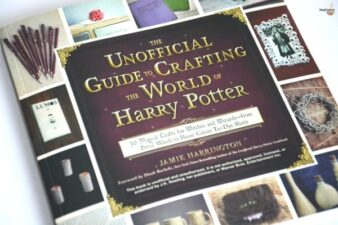 review of Unofficial Guide to Crafting the World of Harry Potter review and craft