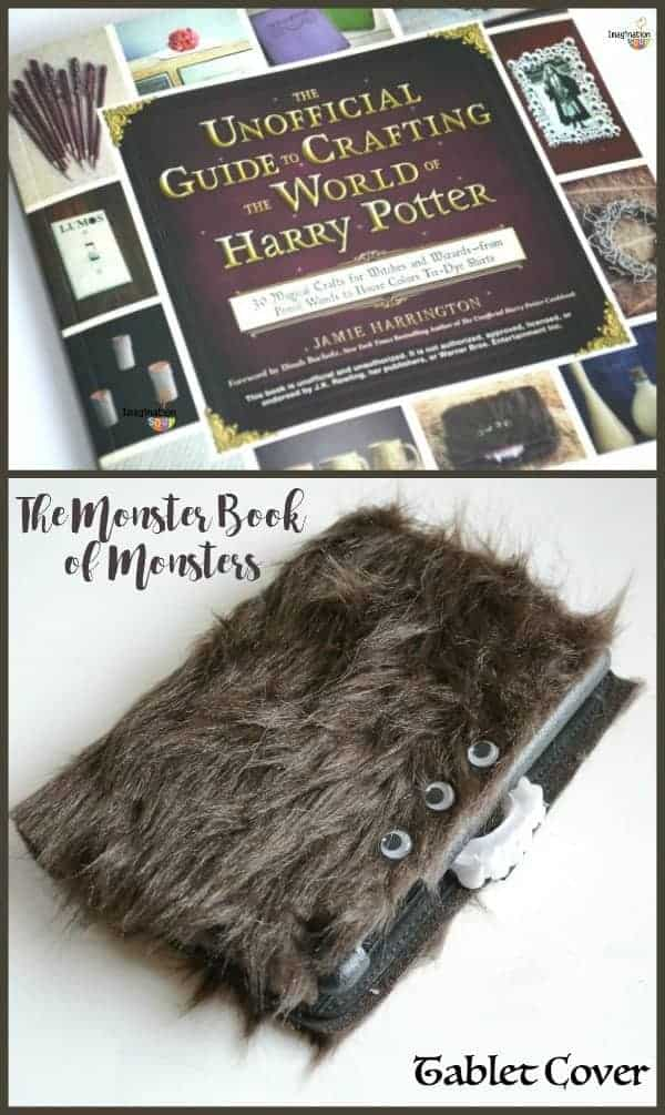 Unofficial Guide to Crafting the World of Harry Potter Monster Book of Monsters Tablet Cover 1