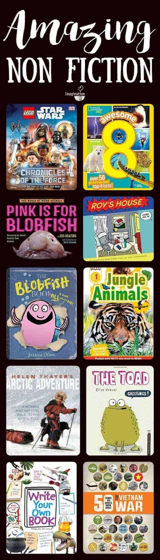 amazing non fiction children's book