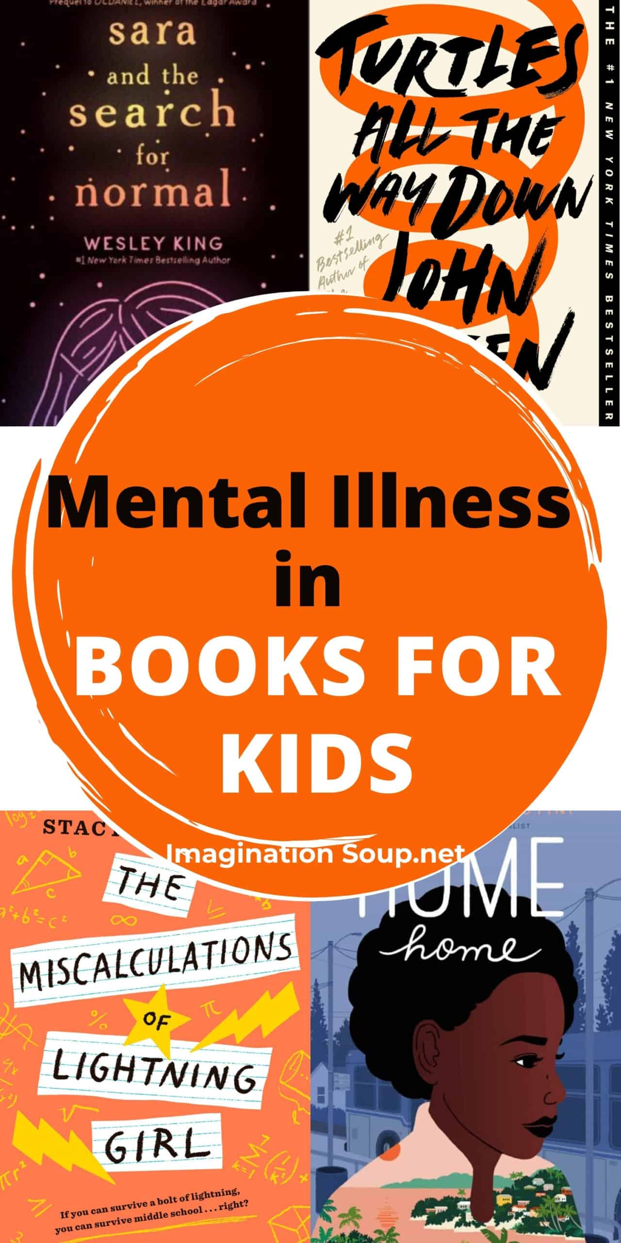 mental illness in books for kids ages 2 - 18