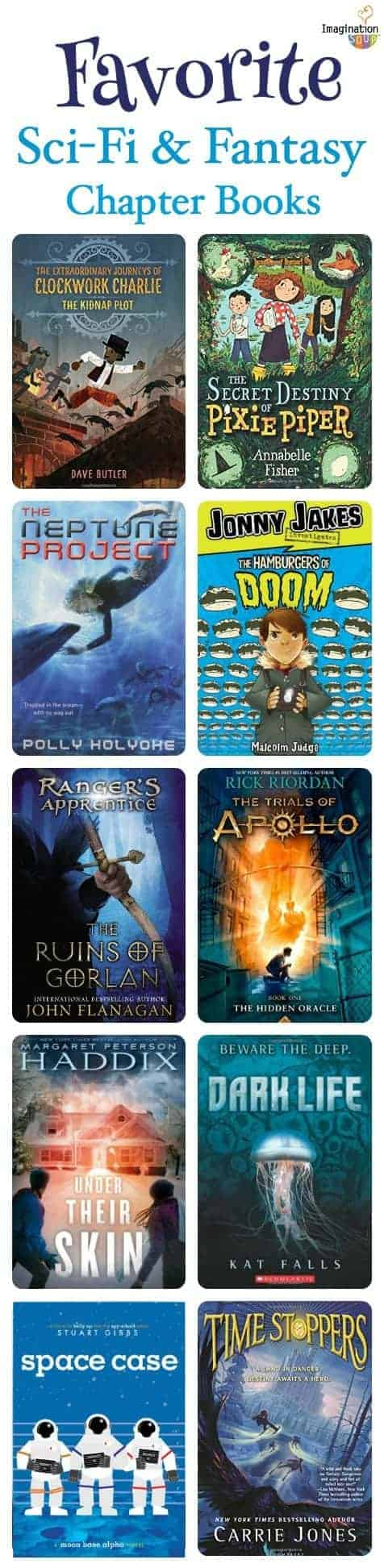 new favorite science fiction and fantasy chapter books for kids