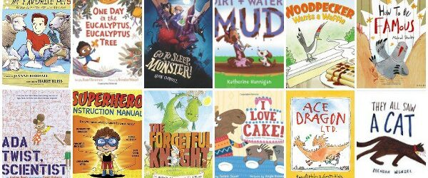So Many Wonderful New Picture Books, Summer 2016