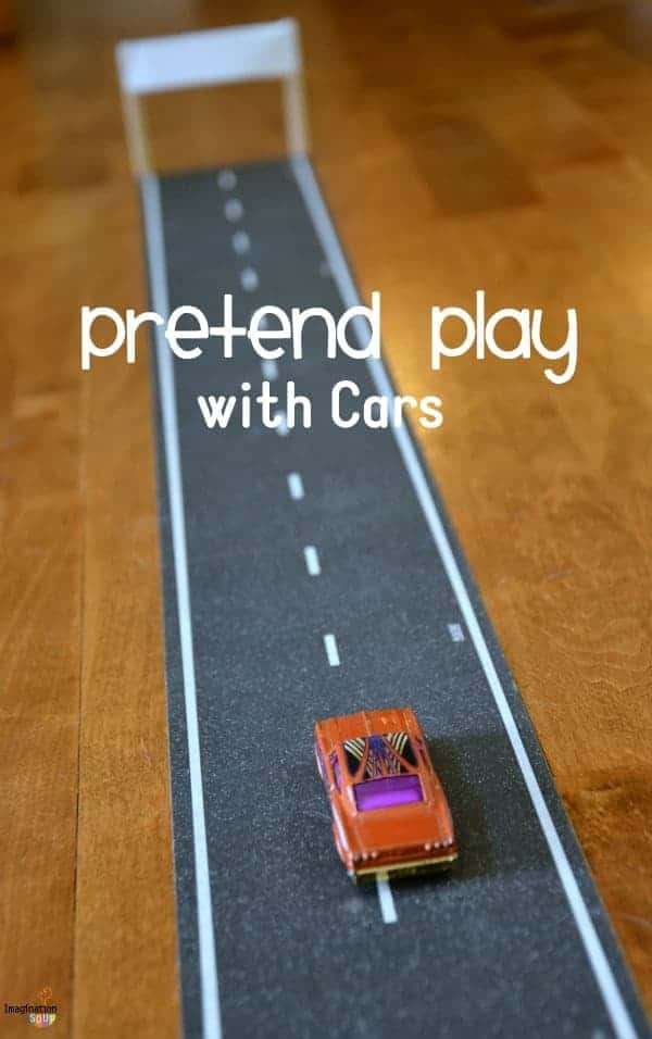 pretend play with cars Cool Road Tape Reinvigorates Our Pretend Play
