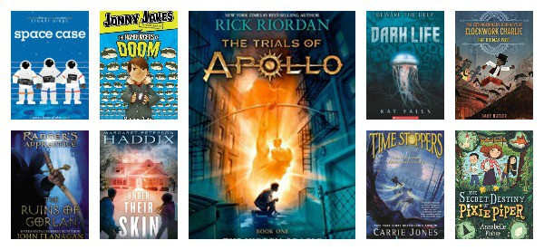 science fiction fantasy books for middle grade readers