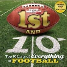 1st and 10- Top 10 Lists of Everything in Football