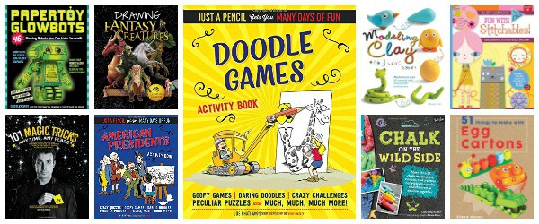 Awesome Activity Books: Crafts, Magic, Drawing, and More