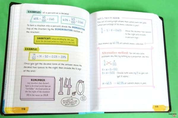 Big Fat Notebook Math (1 of 5 study guides in Math, Science, American History, English Language Arts, and World History)