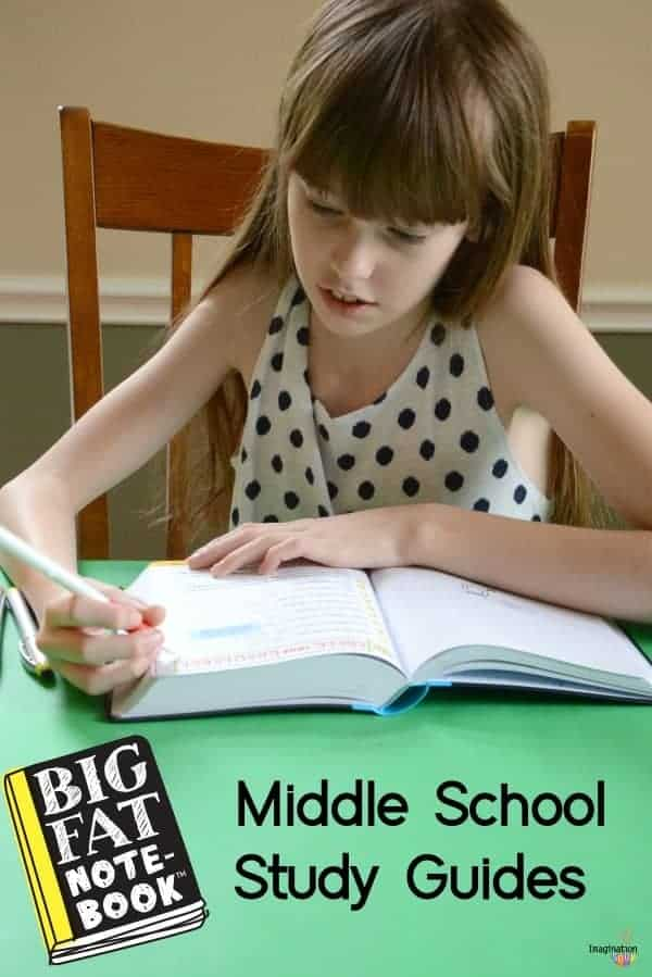 Big Fat Notebook Middle School Study Guides ((Math, Science, American History, English Language Arts, and World History)