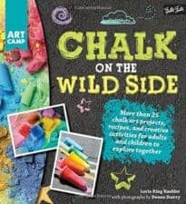 Chalk on the Wild Side Awesome Activity Books: Crafts, Magic, Drawing, and More