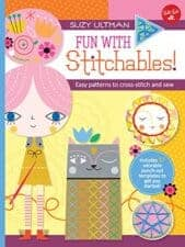 Awesome Activity Books: Crafts, Magic, Drawing, and More Fun with Stitchables! Easy Patterns to Cross-Stitch and Sew