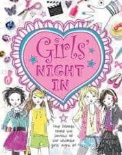 Girls' Night In Awesome Activity Books: Crafts, Magic, Drawing, and More