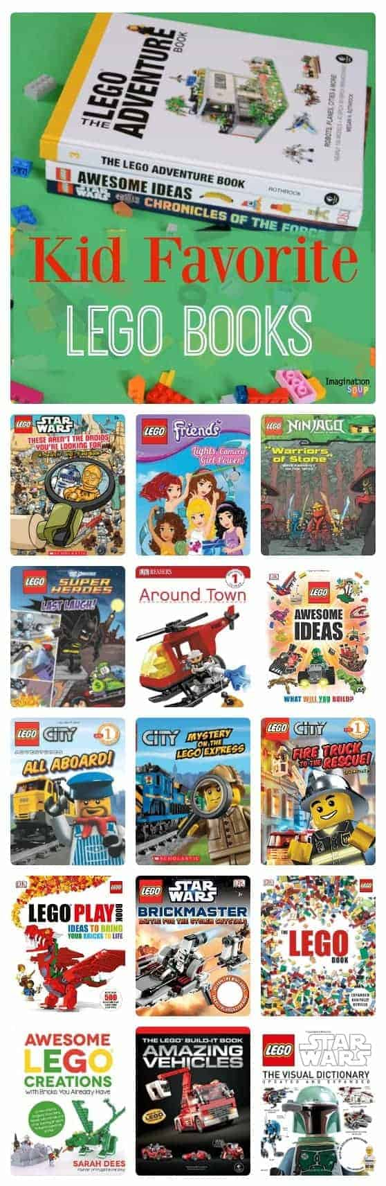 Kid Favorite LEGO Books