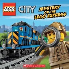 LEGO CIty Mystery on the LEGO Express Kid-Favorite LEGO Books