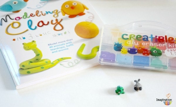Modeling Clay with 3 Basic Shapes and Creatibles How to Make Cute Clay Creatures