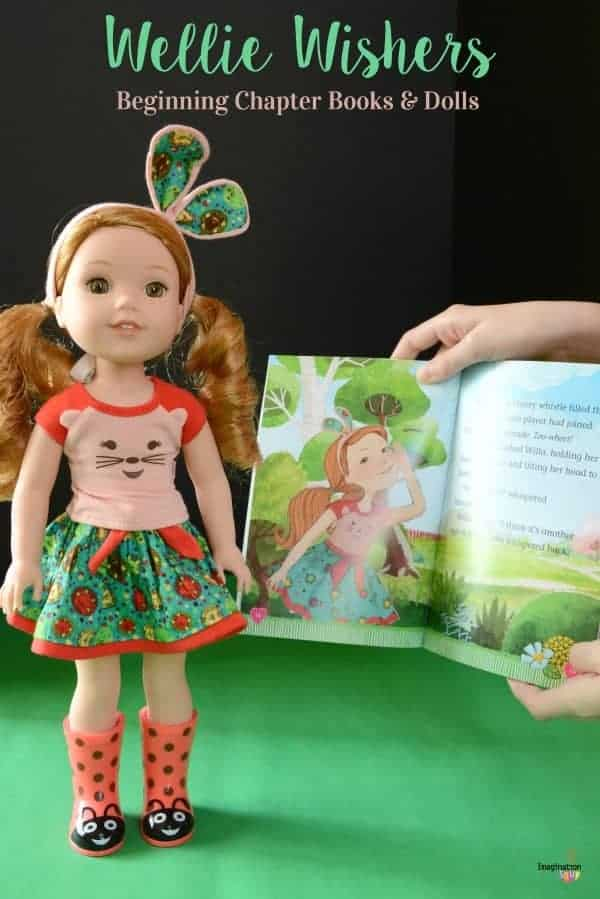 WellieWishers Easy Chapter Books & Dolls from American Girl