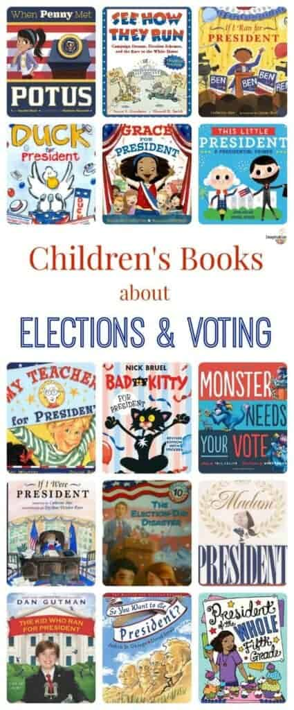 books for kids about elections and voting