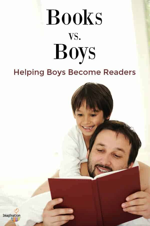 How to help your boy become a reader. Books and boys