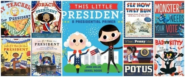 Children's Books about Elections and Voting