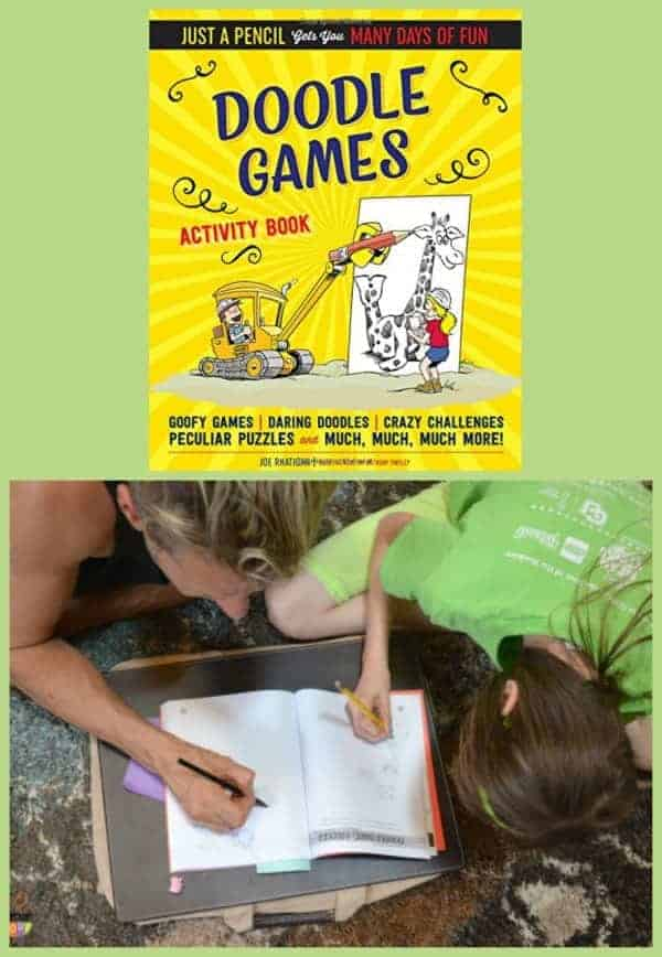 Doodle Games is so much fun for kids to do with a parent of friend
