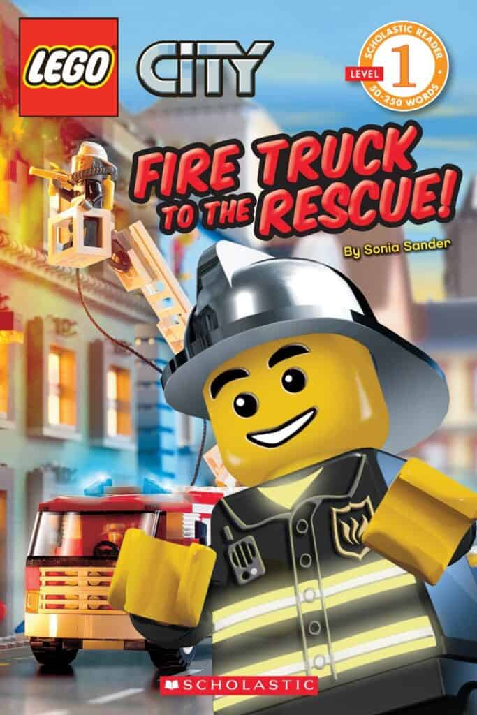 fire truck to the rescue lego city