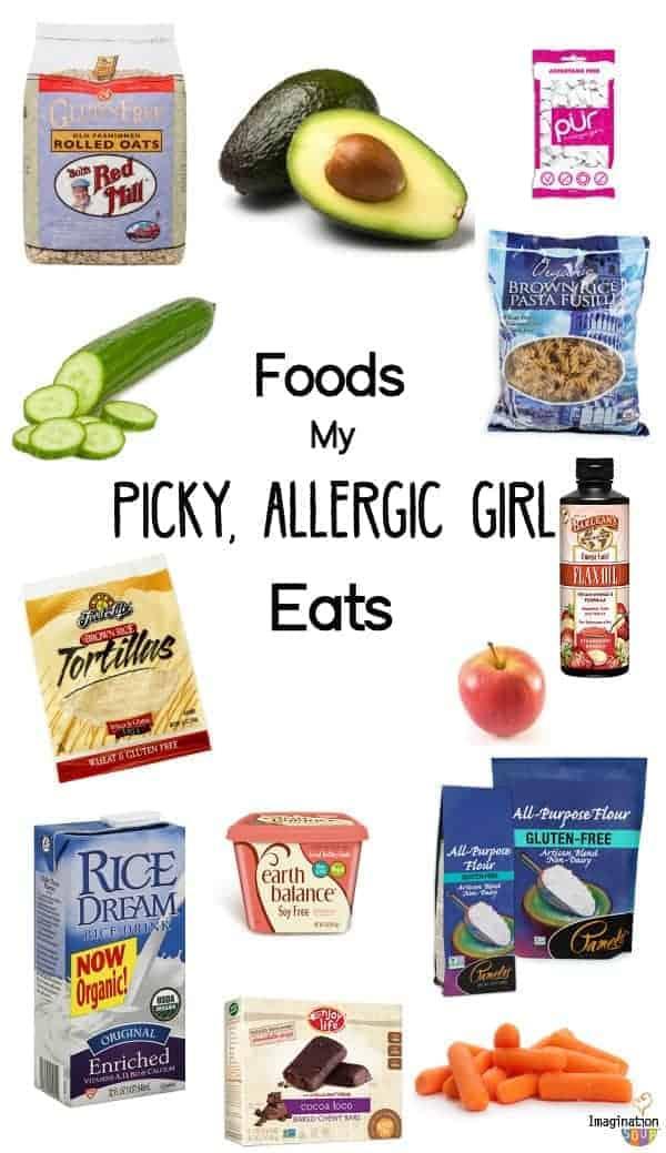 Foods My Picky, Allergic Girl Eats