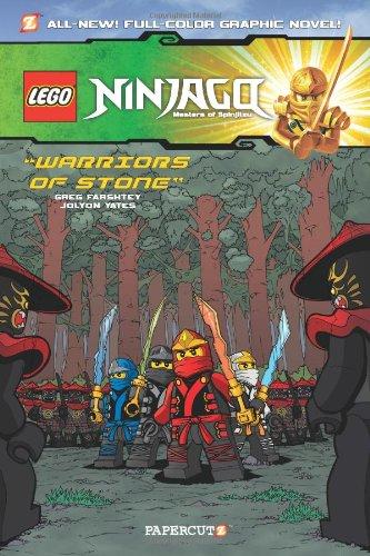 lego ninjago warriors of stone