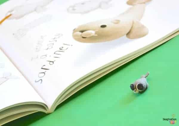 modeling clay or eraser seal How to Make Cute Clay Creatures