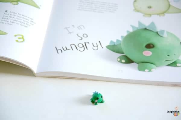 modeling clay or erasers dinosaur How to Make Cute Clay Creatures