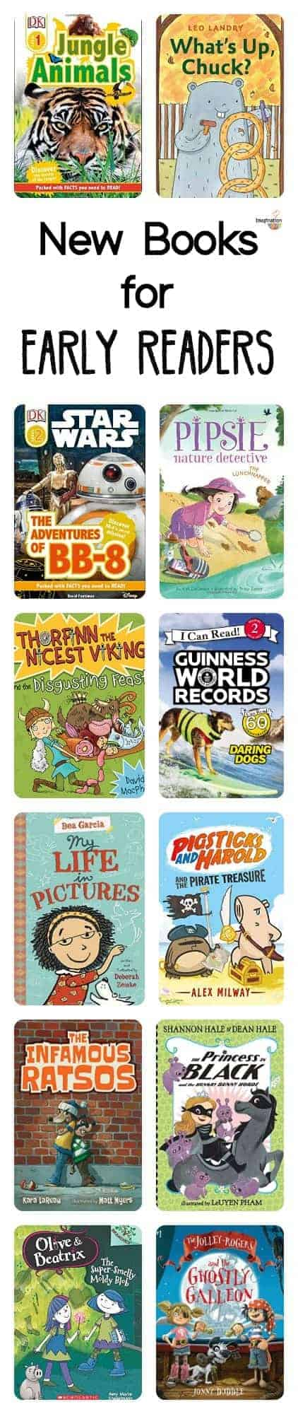 new book choices for early readers