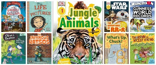 More Book Choices For Early Readers