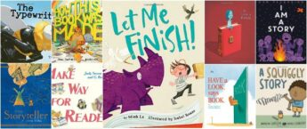 10 children's books about books, stories, reading, writing