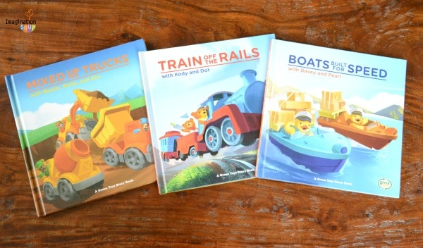 Green Toys NEW Storybooks