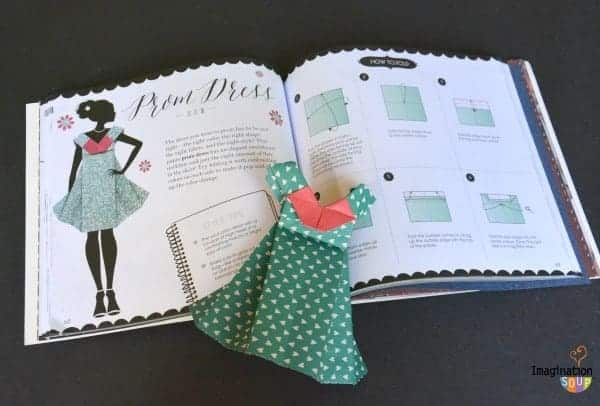 Learn How to Make Origami Fashion Designs Activity Book for Kids