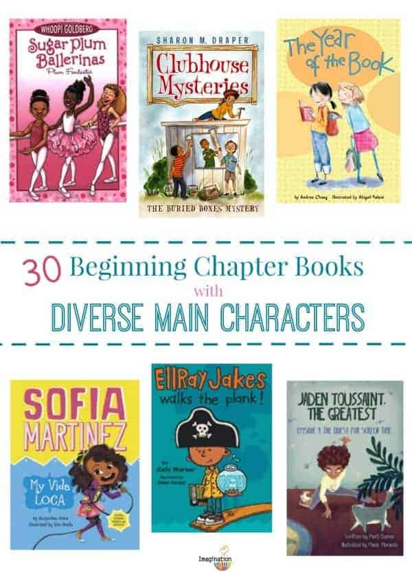 beginning easy early chapter books with diversity