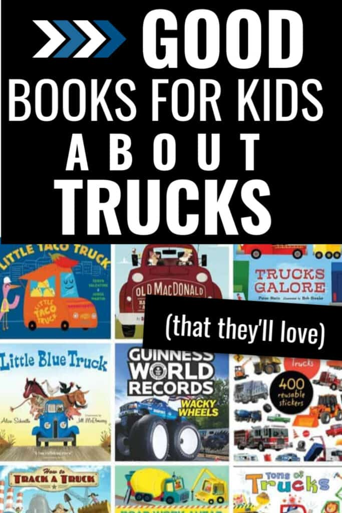 good books for kids about trucks