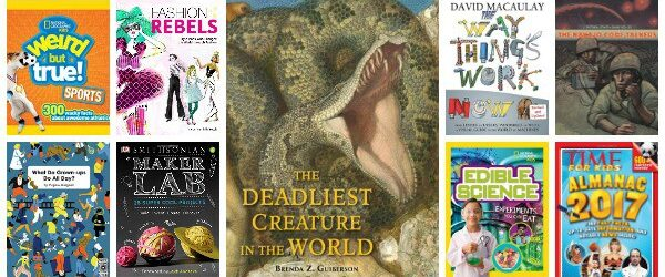 Must-Read NonFiction Books for Kids