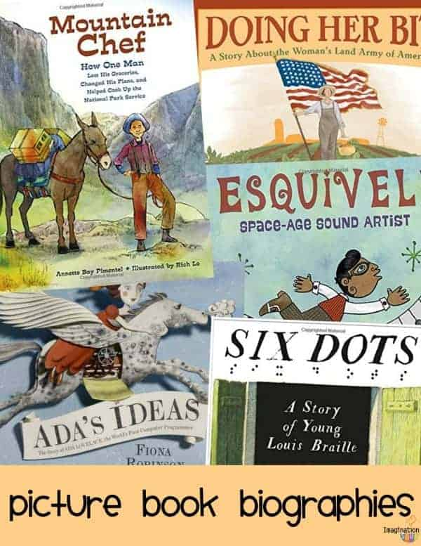 inspirational nonfiction picture book biographies