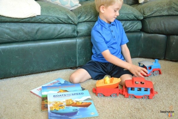 picture books guided play Green Toys