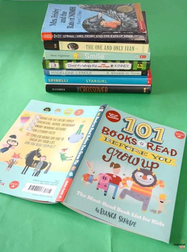 101 Books to Read Before You Grow Up -- love it!