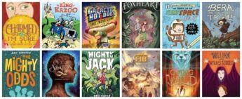 2016 new fantasy and sci fi middle grade titles