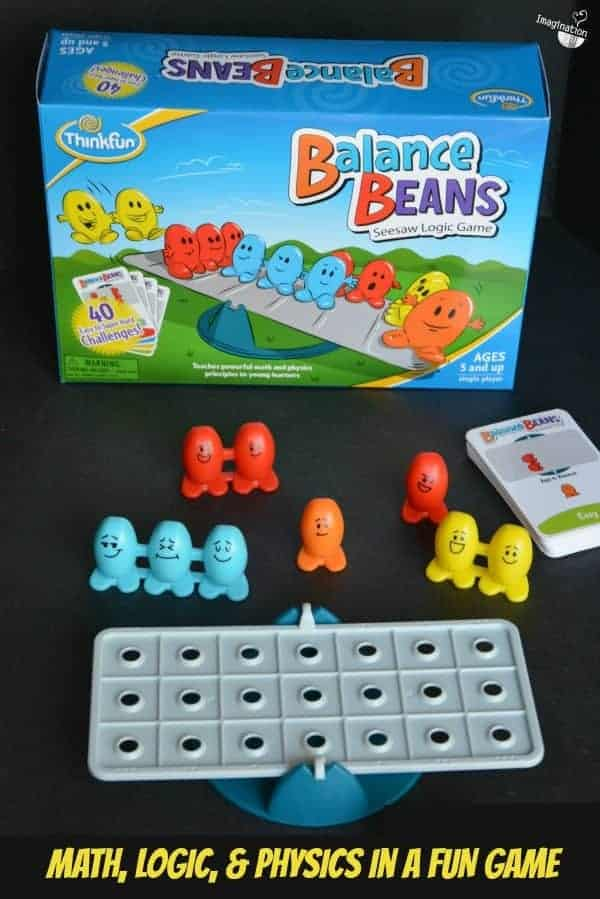 Super Fun!! We love this 1 Player game, Balance Beans (for ages 5+)