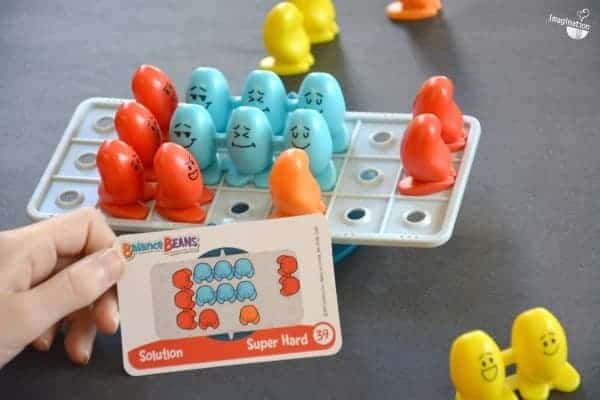 Review of Balance Beans logic game from Think Fun