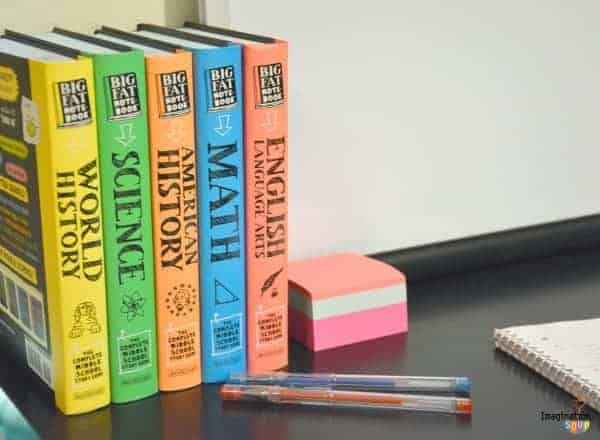 Create the Perfect Study Space for Your Tween #BigFatNotebooks
